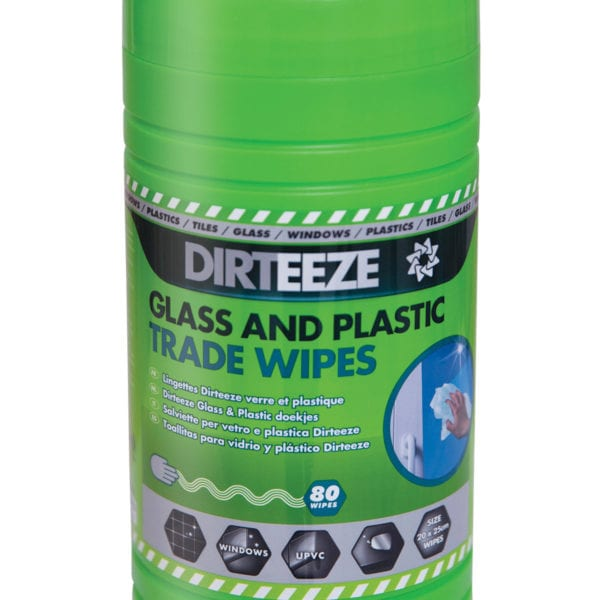 Tub of Glass & Plastic Trade Wipes