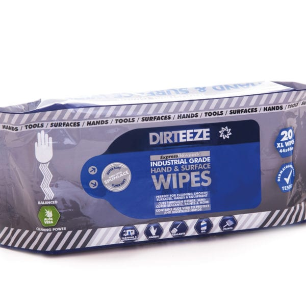 Industrial Hand & Surface Wipes