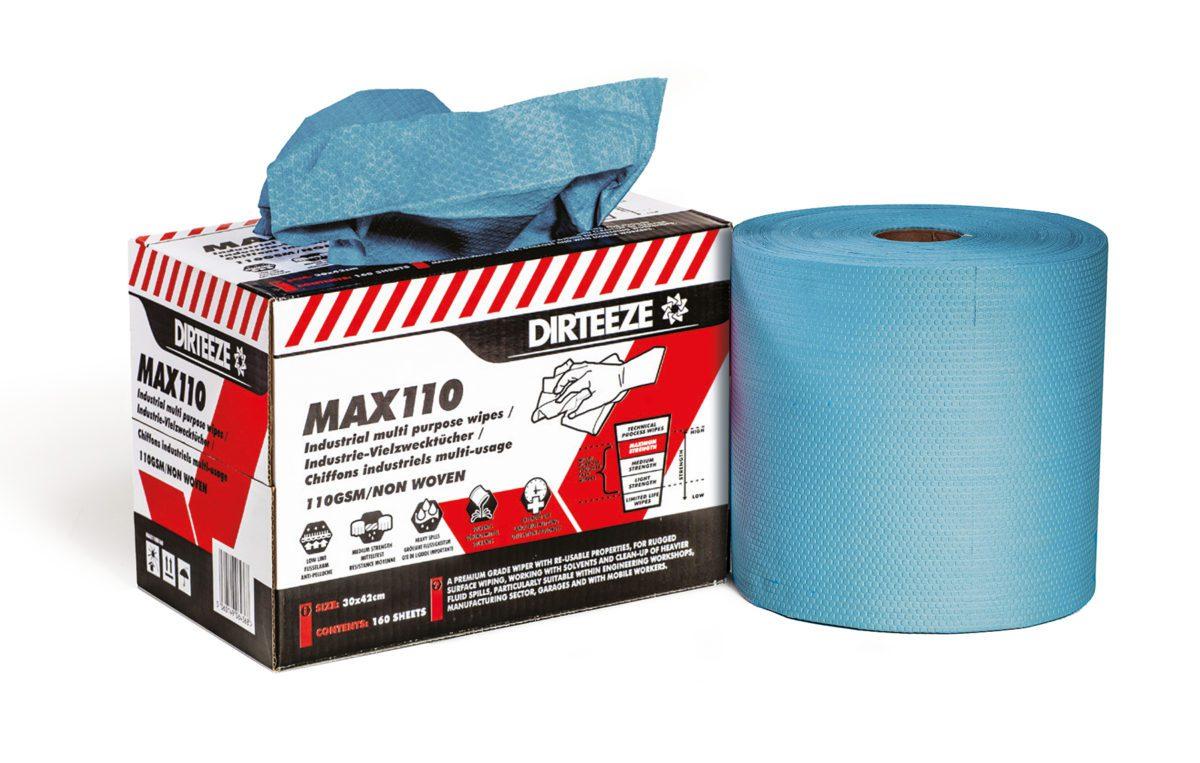 Max110 Industrial Wipes Range