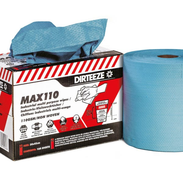 Max110 Industrial Wipes Range