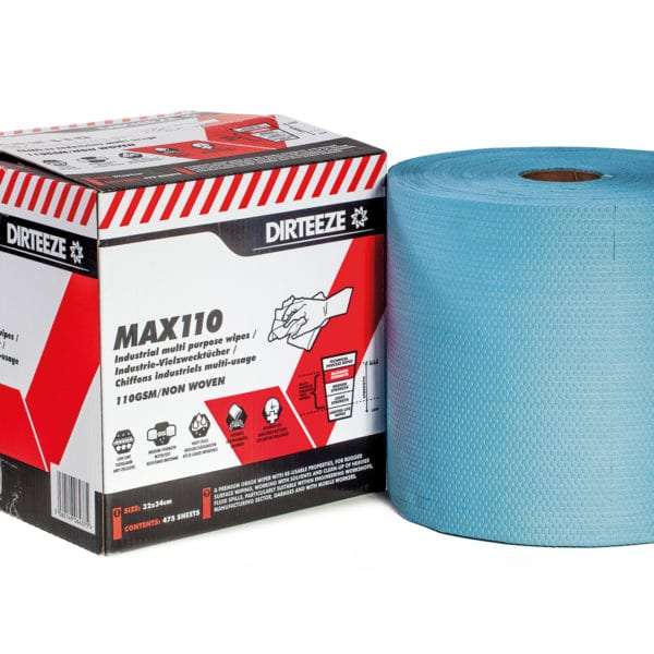 Jumbo Roll of Max110 non-woven industrial wipes