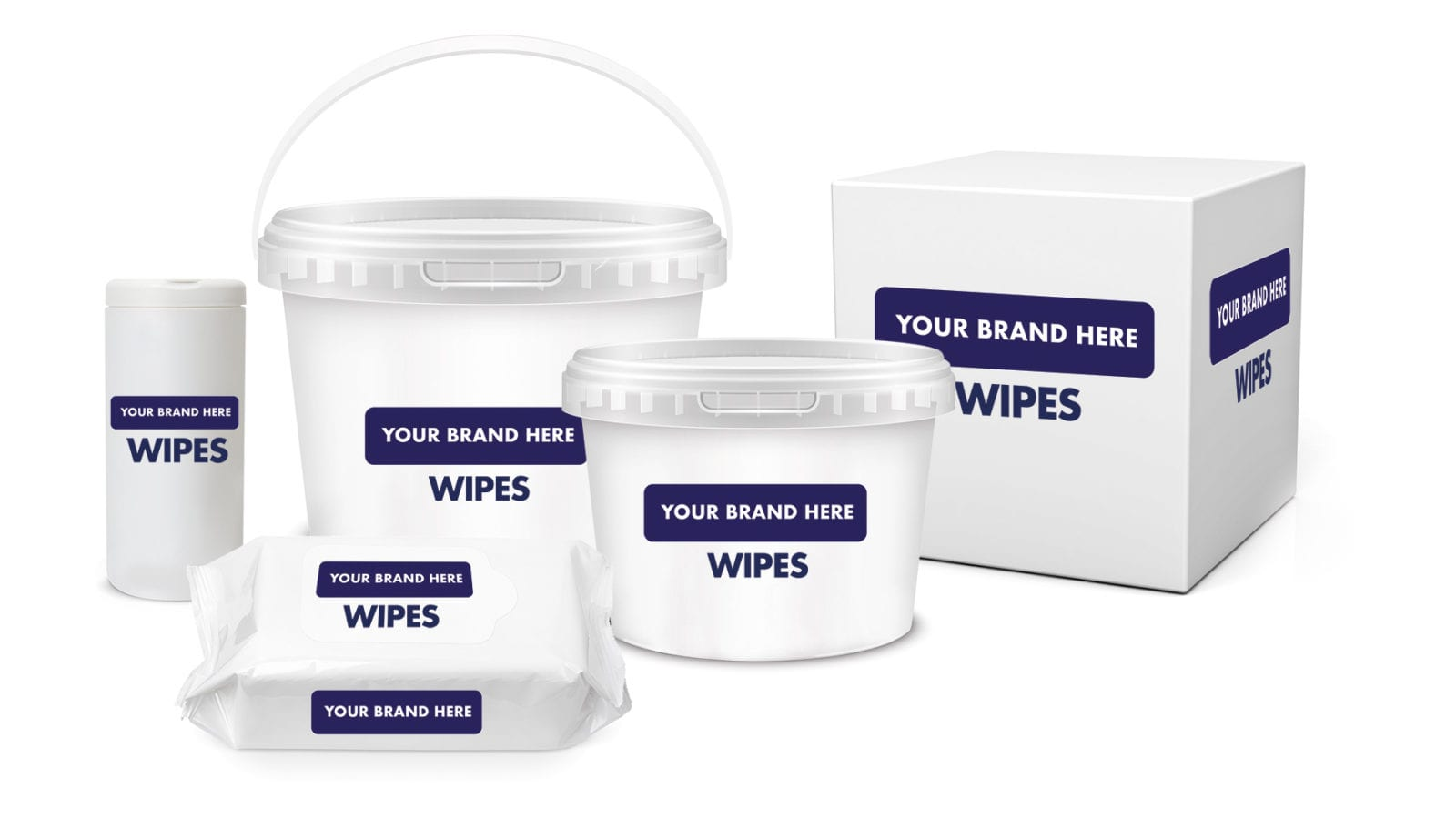 Manufacturer of private label industrial wipes