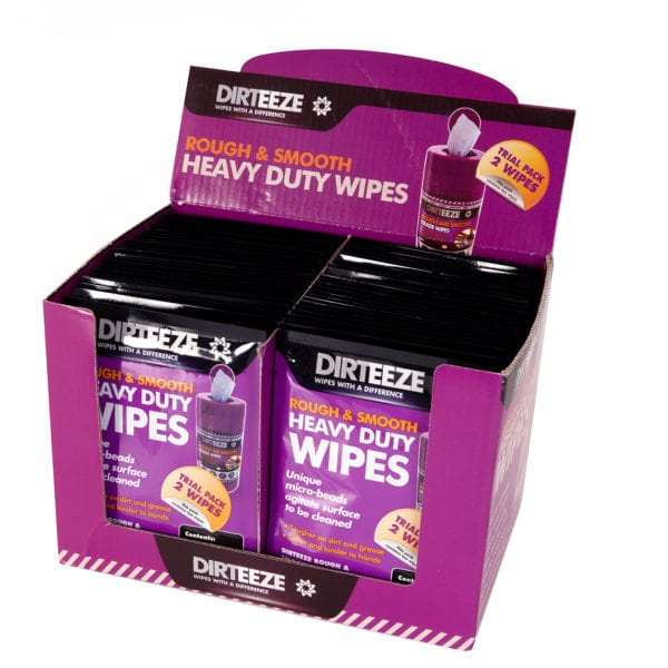 Rough & Smooth Trade Wipes Sachets