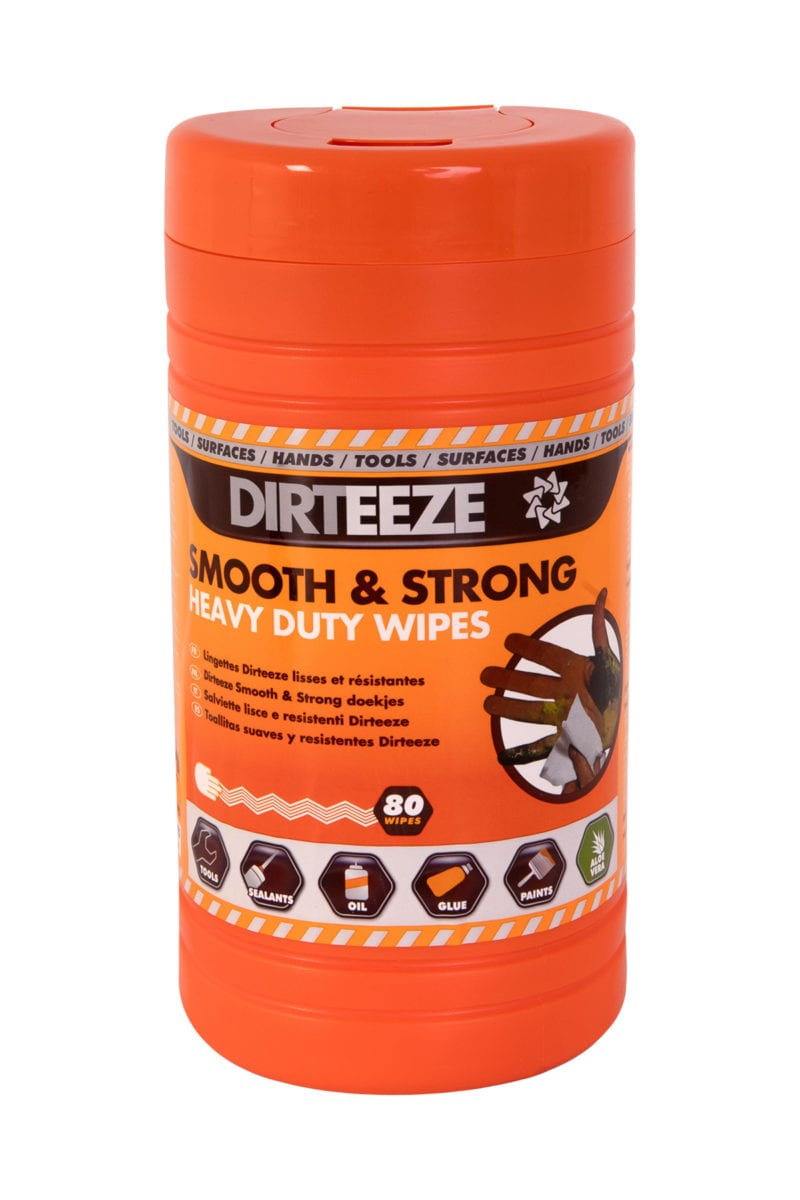 Tub of industrial Smooth & Strong trade Wipes