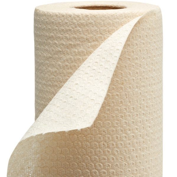 Detail of industrial Bamboo Pro Wipes roll